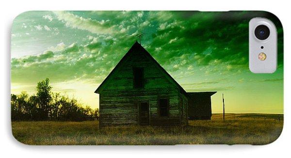 An Old North Dakota Farm House Phone Case by Jeff Swan