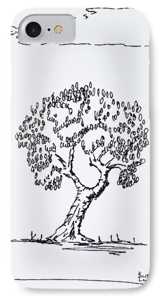 An Olive Tree In The South Of France IPhone Case