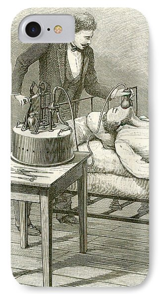 Anaesthetist Administering Chloroform IPhone Case by Universal History Archive/uig