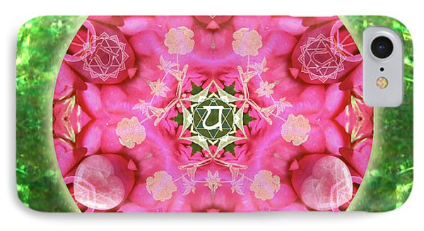 Anahata Rose IPhone Case