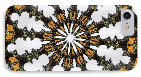 Ananasi Mandala IPhone Case by Lisa Brandel