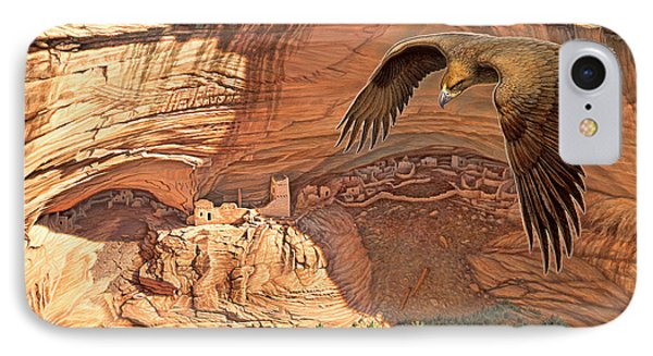 Anasazi - Ancient Ones Phone Case by Paul Krapf