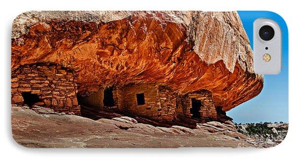 Anasazi Cliff Ruins IPhone Case by Robert Bales