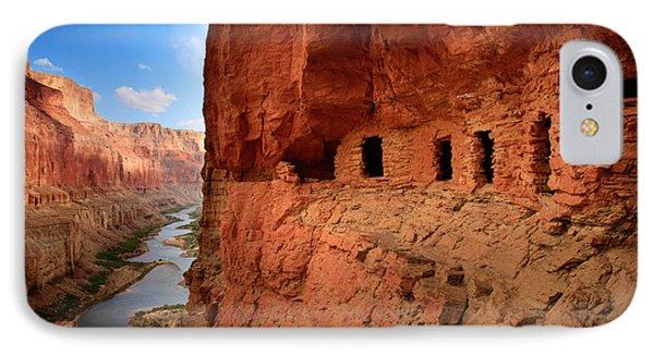Anasazi Granaries IPhone Case by Inge Johnsson