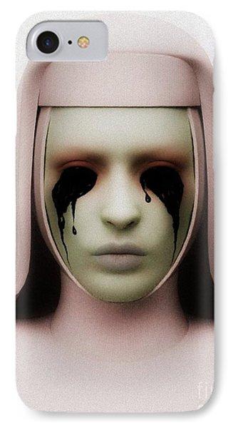 IPhone Case featuring the digital art Anathema by Sandra Bauser Digital Art