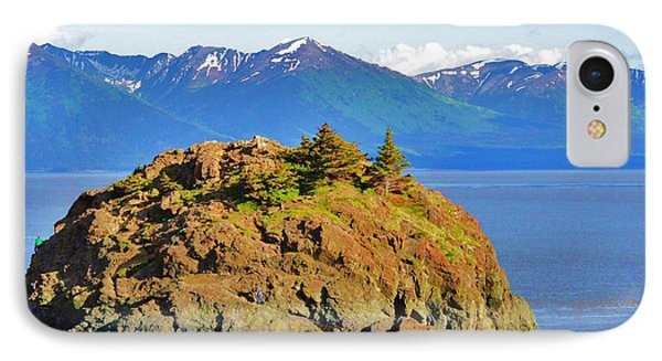 Anchorage Alaska IPhone Case by Dacia Doroff