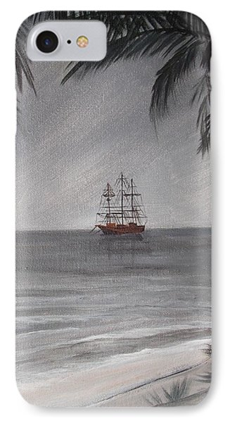 Anchored For The Night IPhone Case by Virginia Coyle