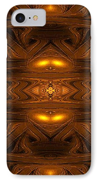 Ancient Alien Jukebox - Abstract Art By Giada Rossi  IPhone Case by Giada Rossi