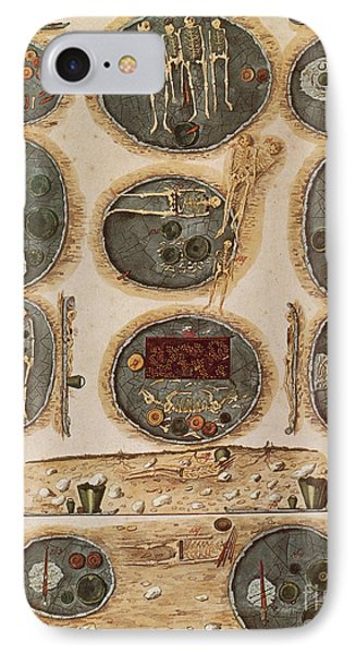 Ancient Celtic Cemetery Hallstatt Phone Case by Science Source