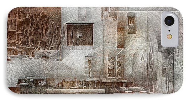 Ancient City 1 IPhone Case by David Hansen