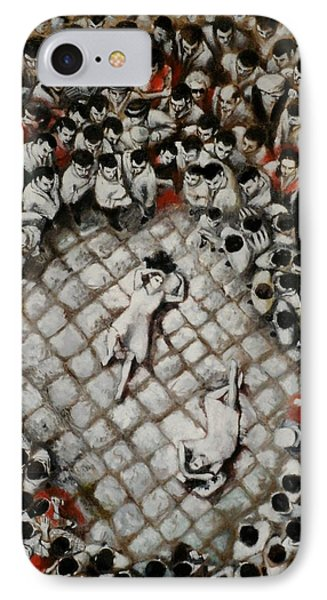 Ancient Dancers Of The Tarantula Dance Phone Case by Alessandra Andrisani