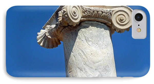 IPhone Case featuring the photograph Ancient Delos Greece by Cheryl Del Toro