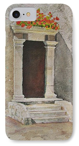 Ancient  Doorway  IPhone Case by Mary Ellen Mueller Legault