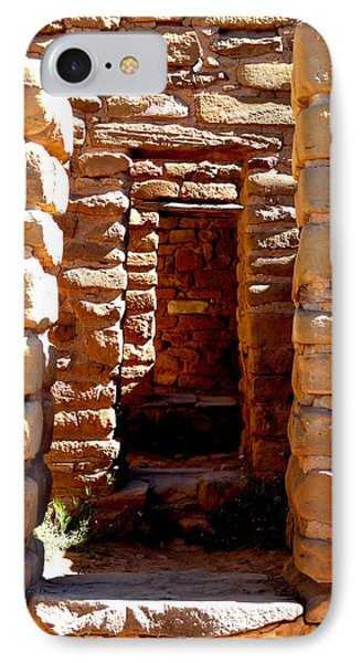 IPhone Case featuring the photograph Ancient Doorways by Alan Socolik