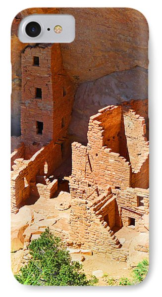 Ancient Dwelling IPhone Case by Alan Socolik