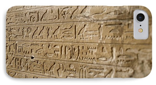 Ancient Egyptian Hieroglyphs IPhone Case by Petrie Museum Of Egyptian Archaeology, Ucl