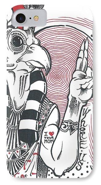 Ancient Egyptian Pop Culture IPhone Case