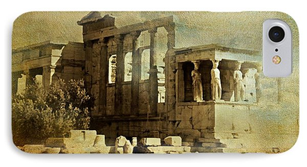Ancient Greece IPhone Case by Diana Angstadt
