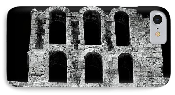 Ancient Greek Ruins IPhone Case by John Rizzuto