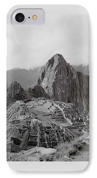 Ancient Machu Picchu IPhone Case by Shaun Higson