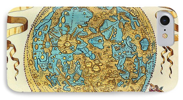 Ancient Map Of The World Phone Case by Gianfranco Weiss