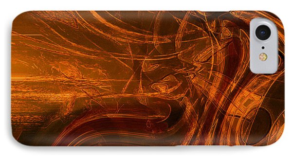 IPhone Case featuring the digital art Ancient by Richard Thomas