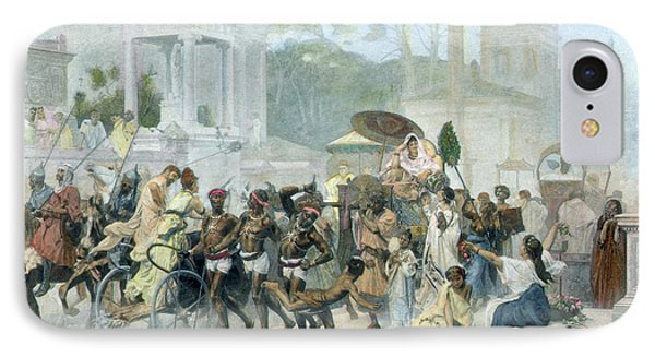 Ancient Rome Appian Way IPhone Case by Granger