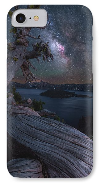 Ancient Roots Of Crater Lake IPhone Case