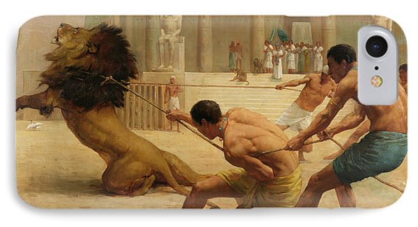 Ancient Sport IPhone Case by George Goodwin Kilburne