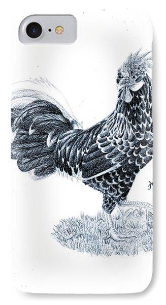 Ancona Chicken Phone Case by Ashe Skyler