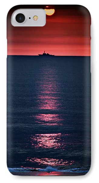 And All The Ships At Sea IPhone Case by Tom Mc Nemar