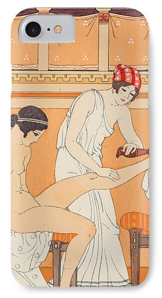 And Anoint It With Fragrant Rose IPhone Case by Joseph Kuhn-Regnier