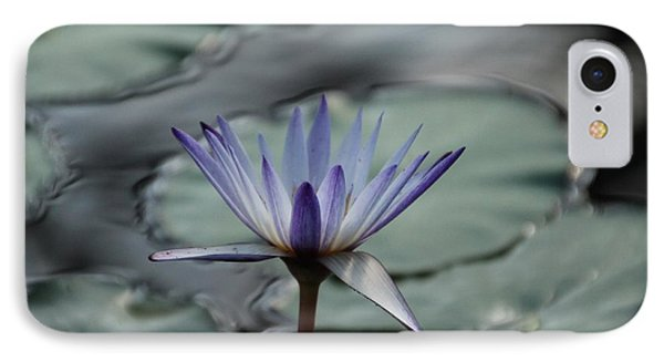 IPhone Case featuring the photograph ...and Cue Lily  by Lynn England