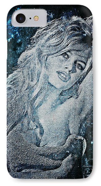 And God Created Woman IPhone Case by Absinthe Art By Michelle LeAnn Scott