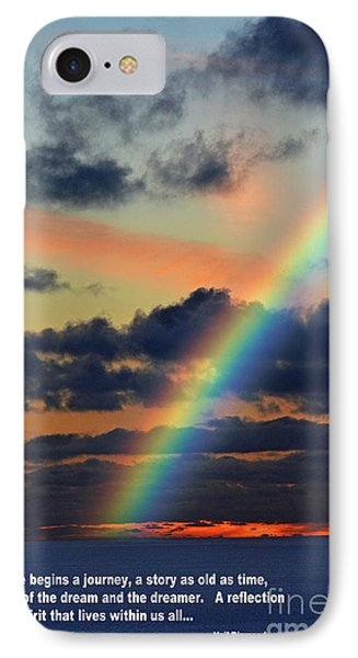 And Here Begins A Journey  IPhone Case by Jim Fitzpatrick