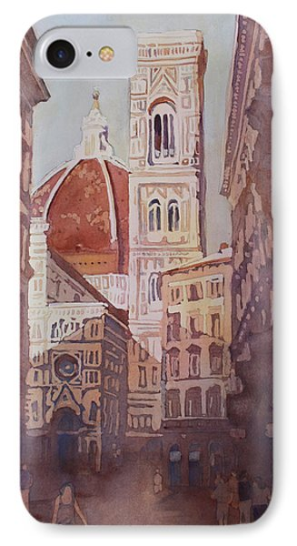 And Suddenly The Duomo IPhone Case by Jenny Armitage