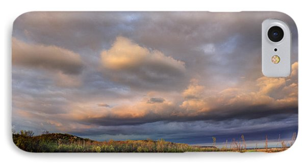 And The Earth Now Awakens IPhone Case by William Fields