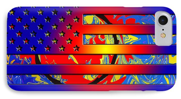 And The Flag Still Stands Phone Case by Robert Margetts