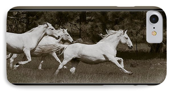 IPhone Case featuring the photograph And The Race Is On D5932 by Wes and Dotty Weber