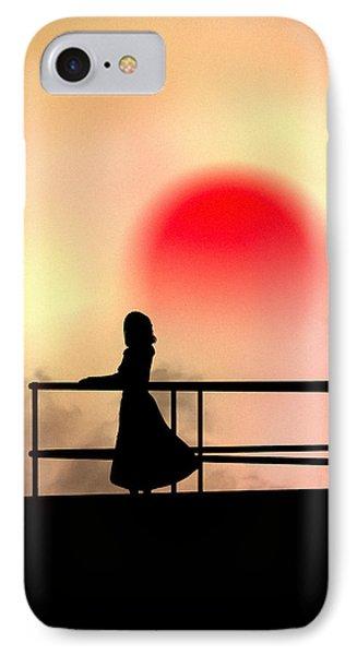 And The Sun Also Rises Phone Case by Bob Orsillo