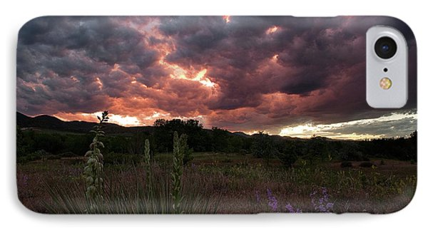 IPhone Case featuring the photograph And There Was War In Heaven by Jim Garrison