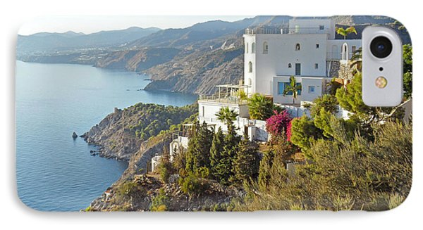 IPhone Case featuring the photograph Andalucia Coastline by Rod Jones