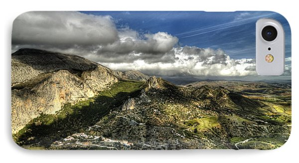 IPhone Case featuring the photograph Andalusia - Mountain View by Julis Simo