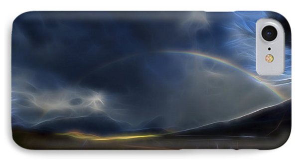 IPhone Case featuring the digital art Andean Rainbow by William Horden