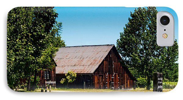 Anderson Valley Barn Phone Case by Bill Gallagher