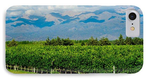 Andes Vineyard IPhone Case