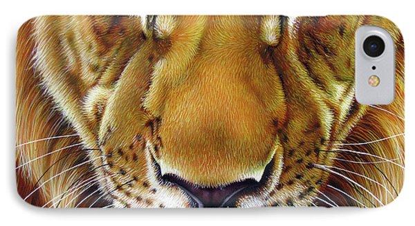 Andre Lion Phone Case by Jurek Zamoyski