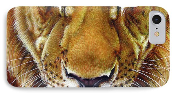 Andre Lion IPhone Case by Jurek Zamoyski