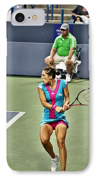 Andrea Petkovic IPhone Case by Rexford L Powell