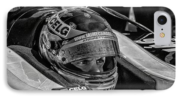 Andretti Driver IPhone Case by Kevin Cable